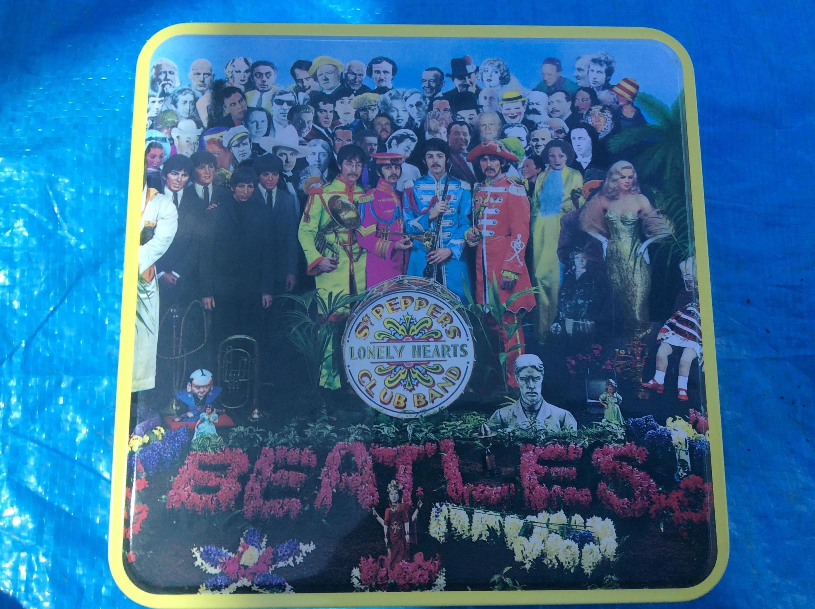 Beatles puzzle of Sgt. Peppers.