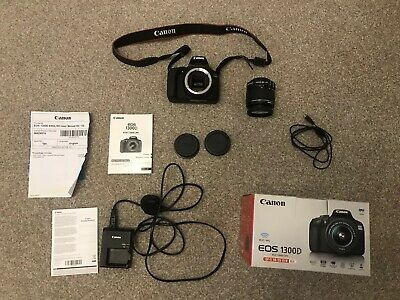 Canon EOS D 18MP Digital SLR Camera - Black (Kit EF-S