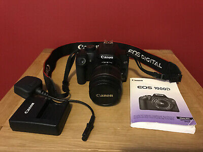 Canon EOS D DSLR Camera + EFS  Lens + Battery &