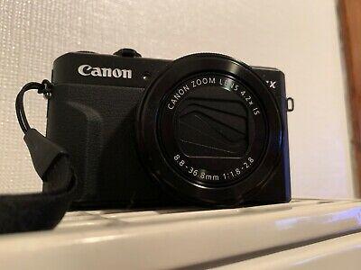 Canon PowerShot G7 X Mark II 20.1 MP Digital Camera - Black