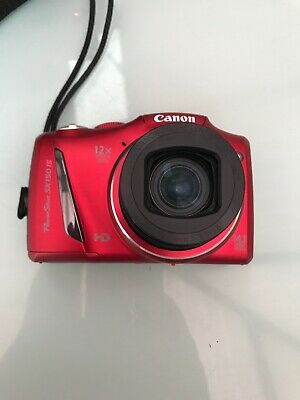 Canon PowerShot SX150 IS 14.1MP Digital Camera - Red