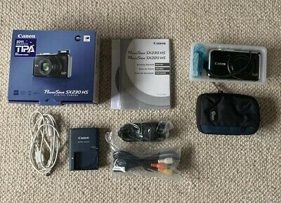 Canon PowerShot SX230 HS 12.1MP Digital Camera - Black -