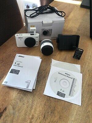 Nikon 1 JMP Digital Camera - White (Kit w/ VR mm