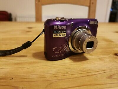 Nikon Coolpix A MP Compact Digital Camera+ carry case