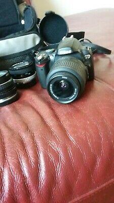Nikon D D40x 10.2MP Digital SLR Camera - Black (Kit w/
