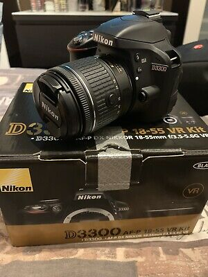 Nikon D DSLR Camera with AF-P DX  VR Lens - LOW