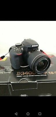 Nikon D DSLR Camera with mm Lens - Black