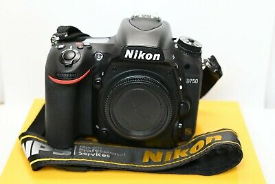 Nikon D750 Body 24.3MP DSLR Camera With MB-D16 Battery Grip.
