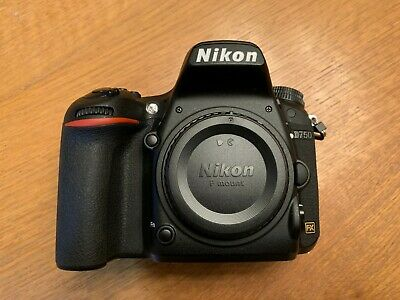 Nikon D750 DSLR 24.3mp Camera Body Only - Shutter count