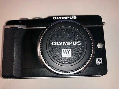 Olympus PEN E-PLMP Digital Camera - Black (Body only)