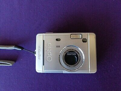 Pentax Optio SMP Digital Camera - Silver