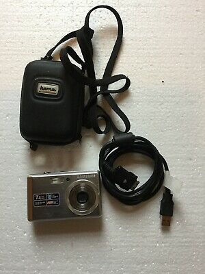 Samsung L Series LMP Digital Camera - Silver And Case