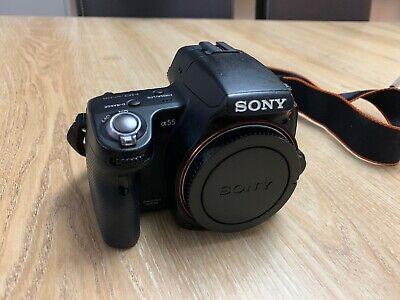 Sony Alpha AMP Digital SLR Camera - Black (Body only)