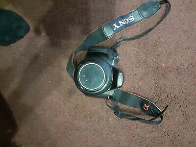 Sony Alpha AMP Digital SLR Camera - Black (Kit w/