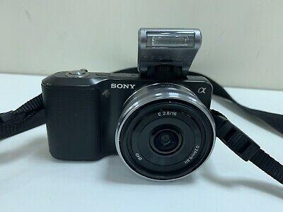 Sony Alpha NEX3KB 14.2MP Digital SLR Camera - Black With