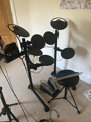 Yamaha DTX400K Electronic Drum Kit - Excellent Condition