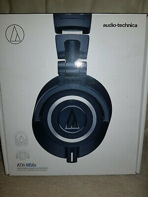 Audio-Technica ATH-M50x wired headphones - boxed, excellent
