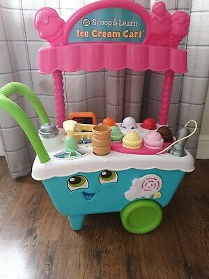 LeapFrog Scoop and Learn Ice Cream Cart excellent