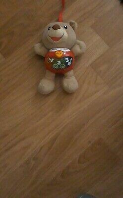 Little Singing Alfie VTech Baby Toy Bear Soft musical Light