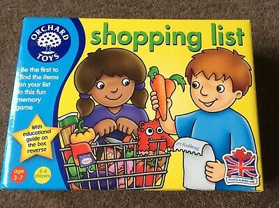 Orchard Toys Shopping List Kids Childrens Game