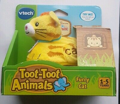 Vtech Baby Toot-Toot Animals Furry Cat Toy, 12Months+ New in