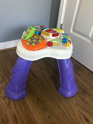 vtech baby play learn activity table