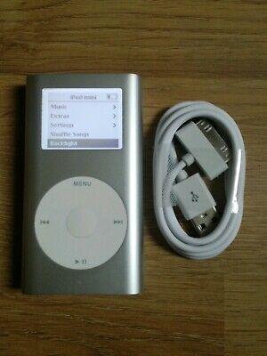 Apple iPod Mini - Silver (6GB) Fully Working (Retro) A