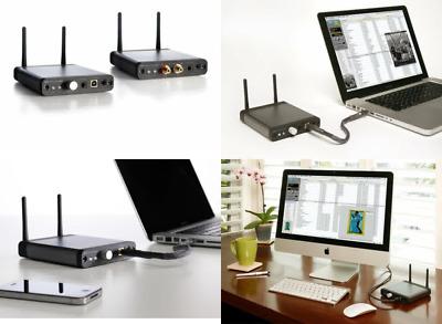Audioengine D2 Wireless DAC - Chrome