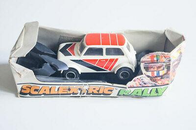 Boxed Vintage s Scalextric Rally C110 C122 Mini Clubman