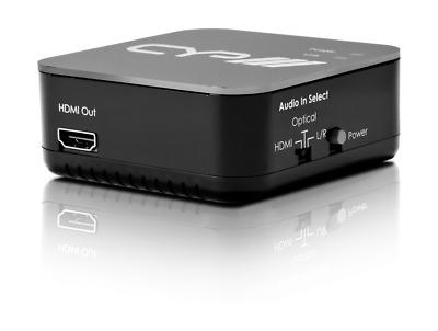 CYP AU-11CA HDMI Audio Embedder Embed Audio Into HDMI 24bit
