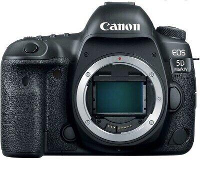 Canon EOS 5D Mark IV 30.4MP Digital SLR Camera - Black (Body