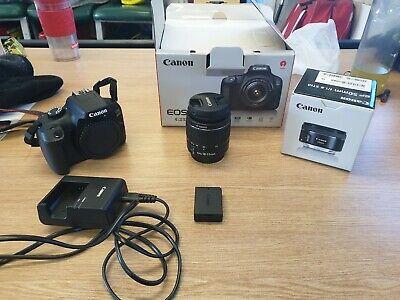 Canon EOS D 18.0 MP DSLR Camera W/ EF-S  mm