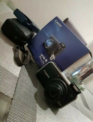 Canon PowerShot SX210 IS 14.1MP Digital Camera - Black plus