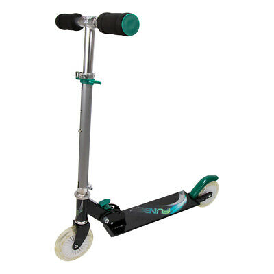 FUNBEE Kid's Two Wheel Inline Foldable Scooter with Flashing