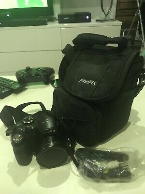 Fujifilm FinePix S Series sMP Digital Camera Black