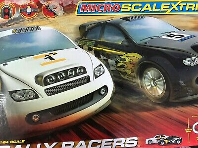 MICRO SCALEXTRIC RALLY RACERS SET G SCALE