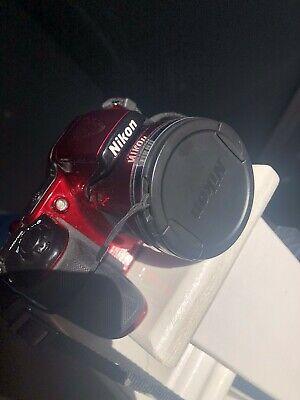 Nikon COOLPIX LMP Digital Camera - Red (Kit w/