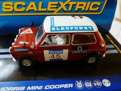 SCALEXTRIC Morris MINI COOPER  Lakes NO.45 Ref.C NEW