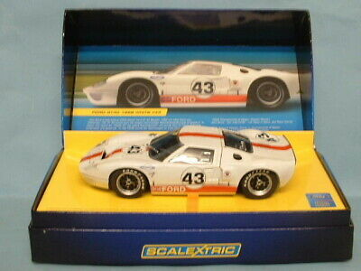 SCALEXTRIC NOS CA #43 FORD GT WHITE LE MANS CAR -