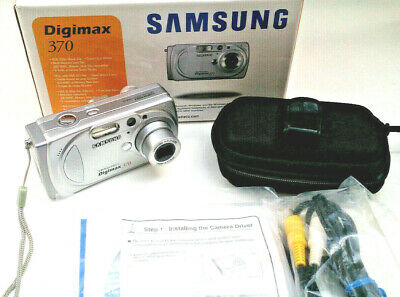 Samsung Digimax 370 auto zoom Camera Silver compact Digital