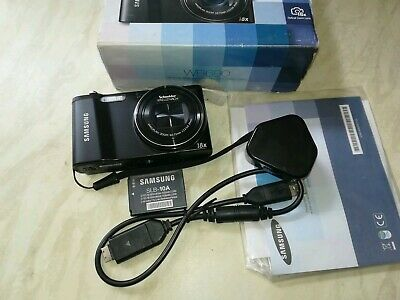 Samsung WB Series WBMP Digital Camera - Black #1