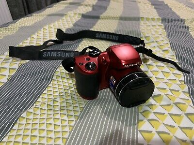 Samsung WB Series WBMP Digital Camera - Red