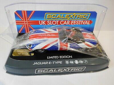 Scalextric C Jaguar E-Type UK Slot Car Festival  Ltd