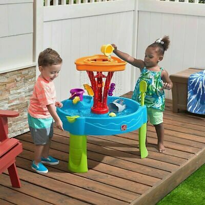 Step2 Water Table Kids Splash Play Outside Summer Toy Inc