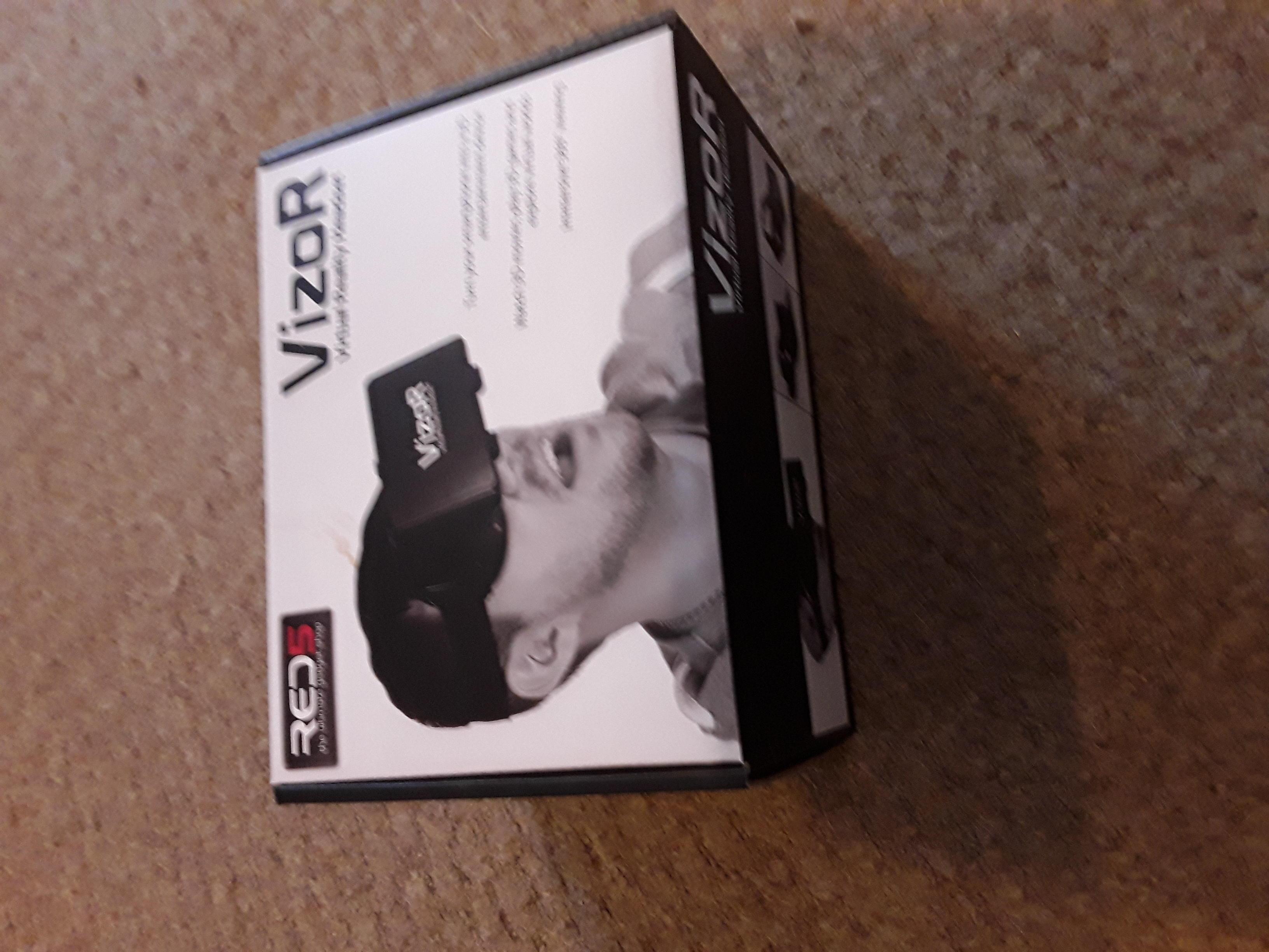 Visor Virtual reality headset