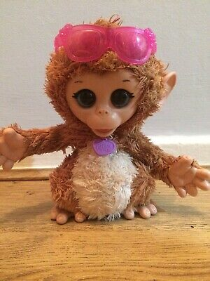 HASBRO FurReal Friends Cuddles Monkey Baby Pet Toy with