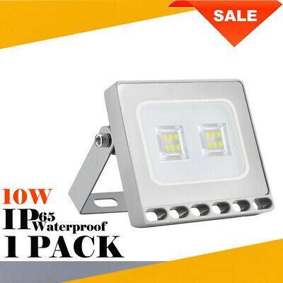 10W LED Floodlight Outdoor Garden Security Light Walkway