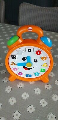 "Fisher Price ""Laugh and Learn"" Counting Colours Clock"