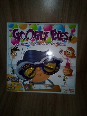 Googly Eyes Board Game Drawing Game of Wacky vision Family