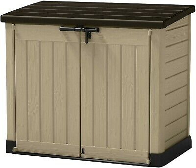 Keter Store-It Out Midi Outdoor Plastic Garden Storage Shed,